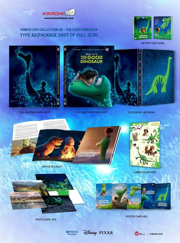 The Good Dinosaur steelbook kimchidvd 3