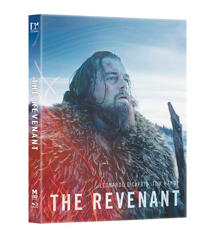 The Revenant steelbook lenticular