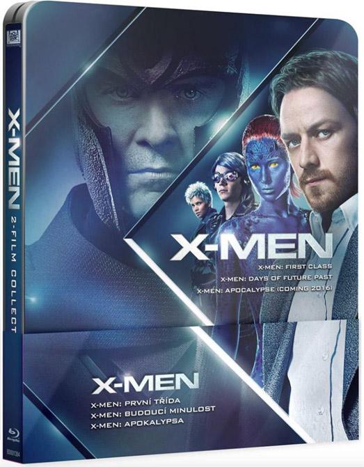X-Men-prelogie-steelbook
