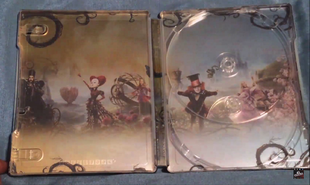 Alice-Through-the-Looking-Glass steelbook