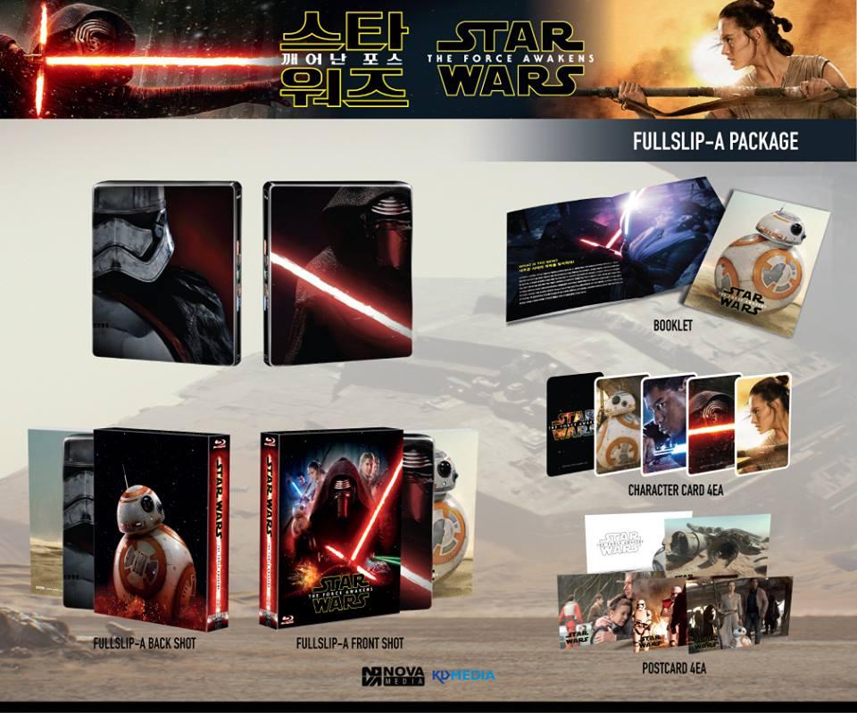 Star Wars Force Awakens steelbook novamedia A