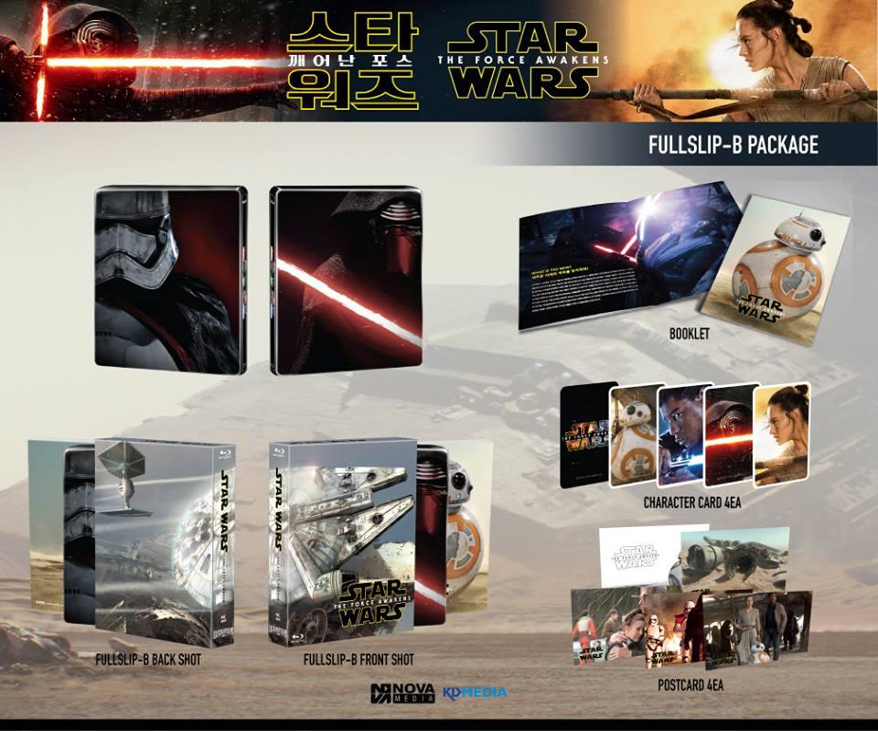 Star Wars Force Awakens steelbook novamedia B