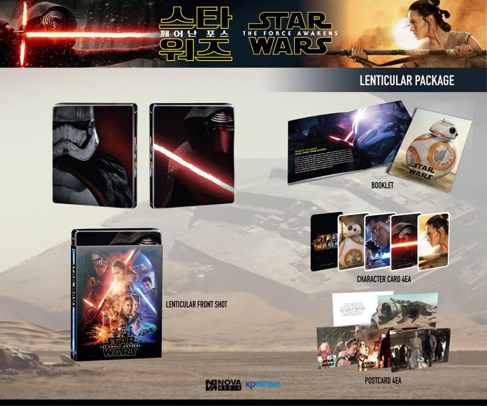 Star Wars Force Awakens steelbook novamedia C