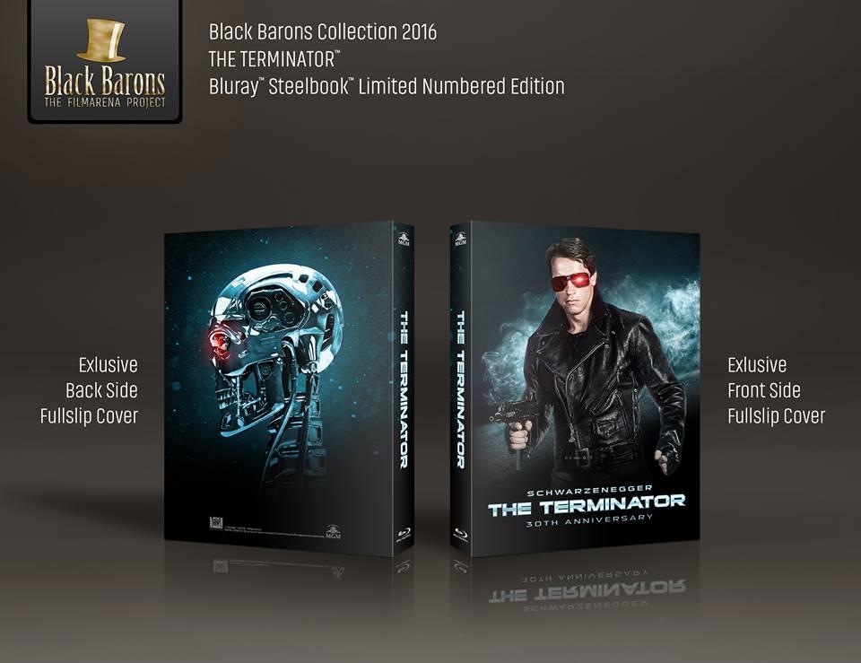 Terminator steelbook black barons