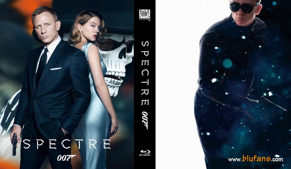 spectre- steelbook blufans