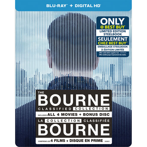 Bourne classified steelbook 1