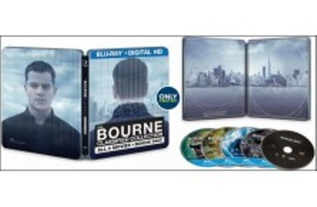 Bourne classified steelbook 3