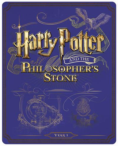 Harry Potter 1 steelbook UK