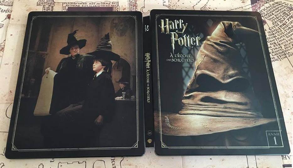 Harry Potter 1 steelbook fr 2