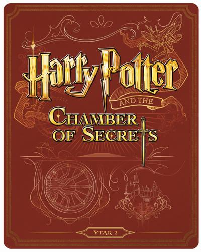 Harry Potter 2 steelbook UK