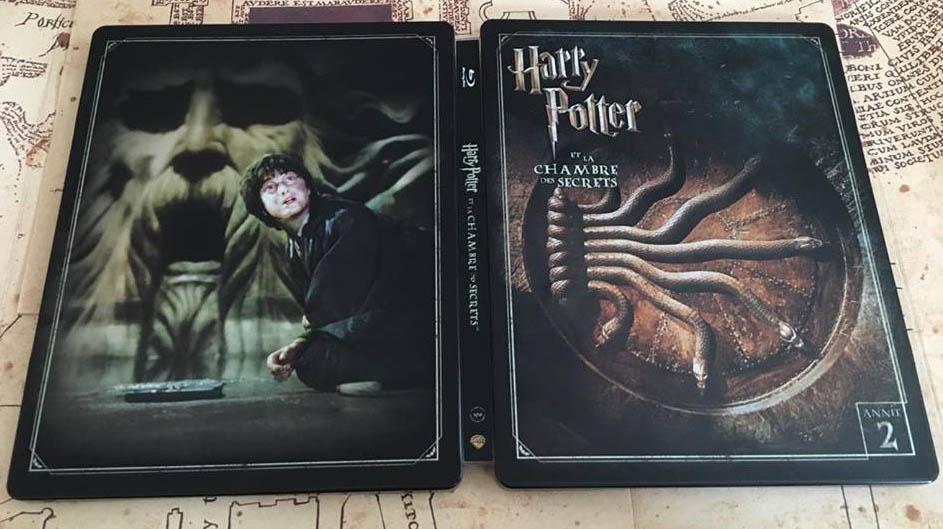 Harry Potter 2 steelbook fr 2