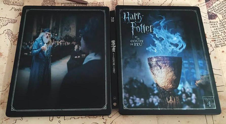 Harry Potter 4 steelbook fr 2