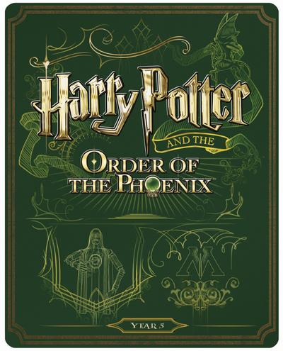 Harry Potter 5 steelbook UK