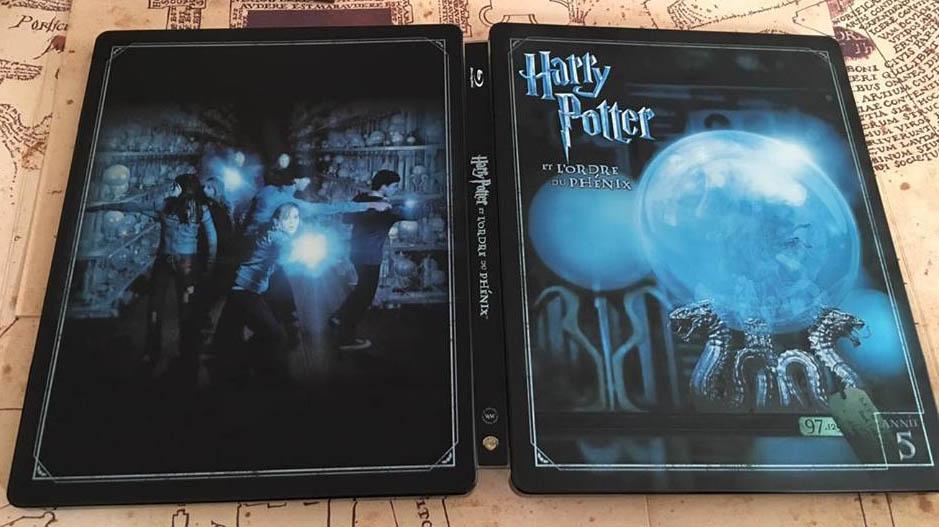 Harry Potter 5 steelbook fr 2