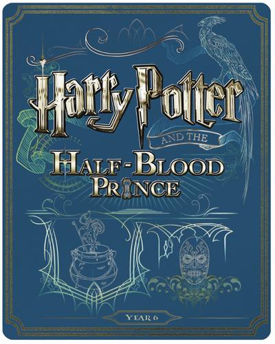 Harry Potter 6 steelbook UK