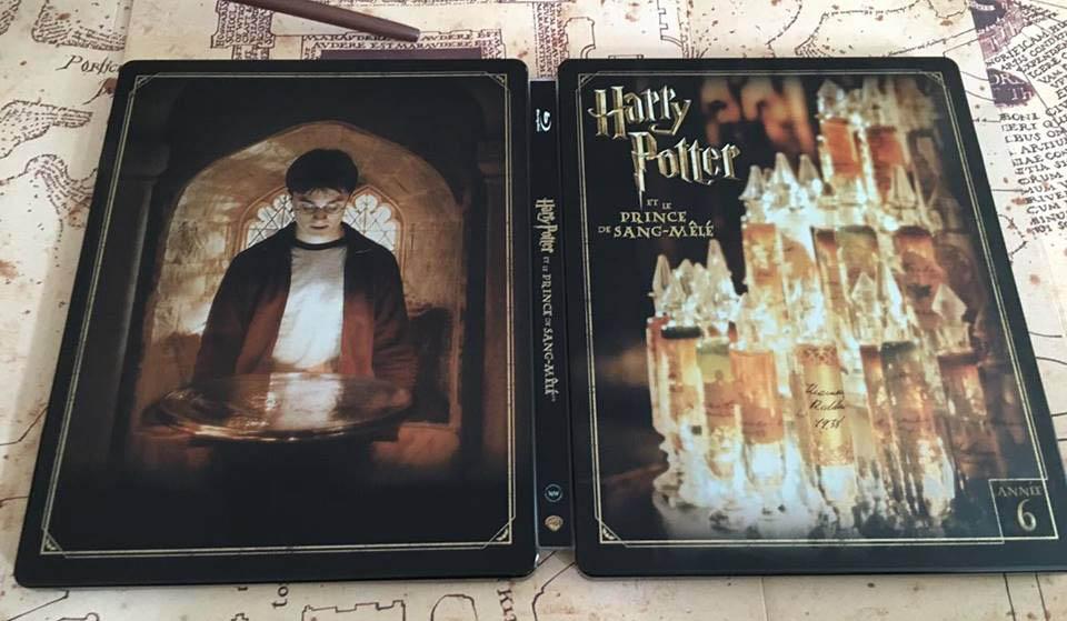 Harry Potter 6 steelbook fr 2