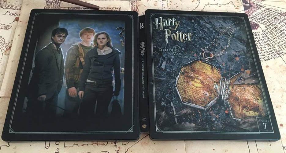 Harry Potter 7 steelbook fr 2