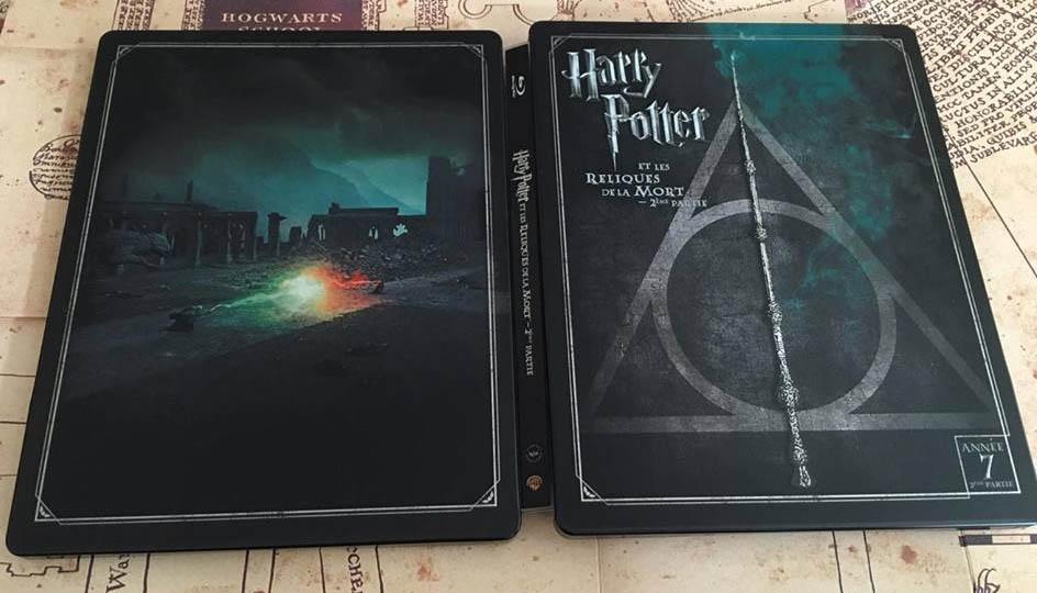 Harry Potter 8 steelbook fr 2