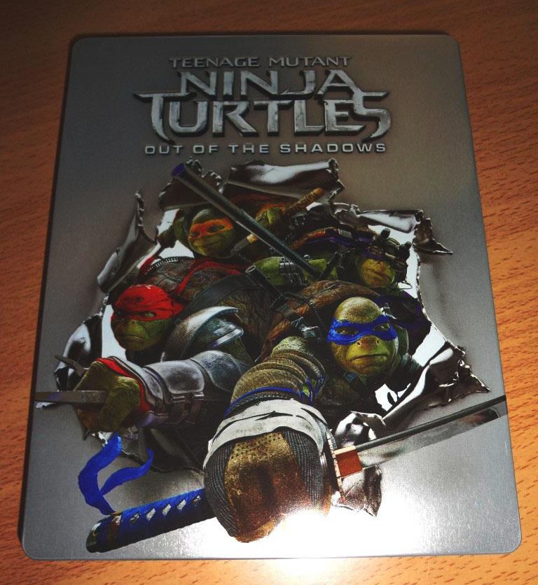 Ninja Turtles 2 steelbook 1