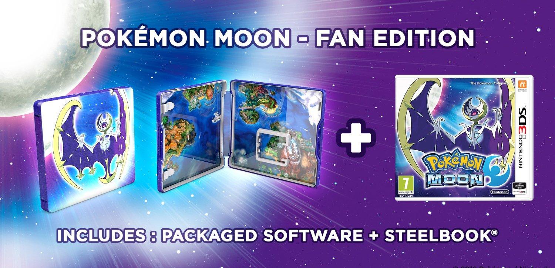 Pokemon moon steelbook