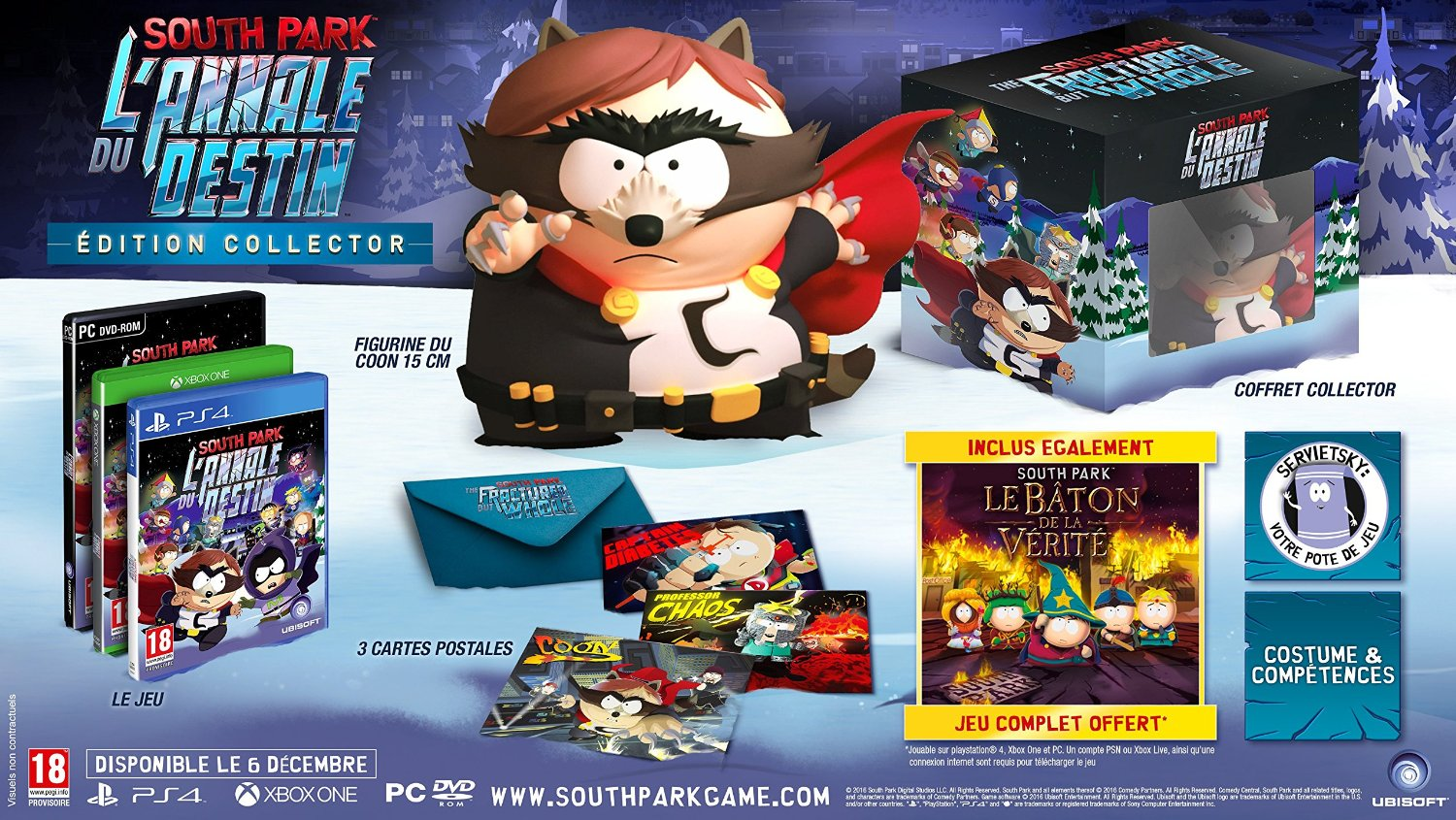 South Park The Fractured but Whole collector