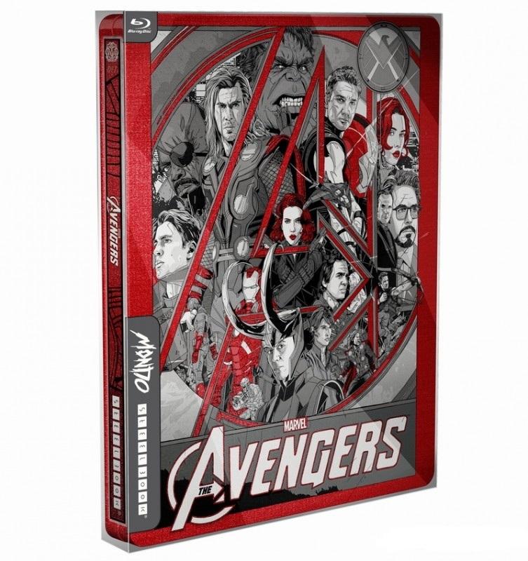 Avengers steelbook blufans mondo