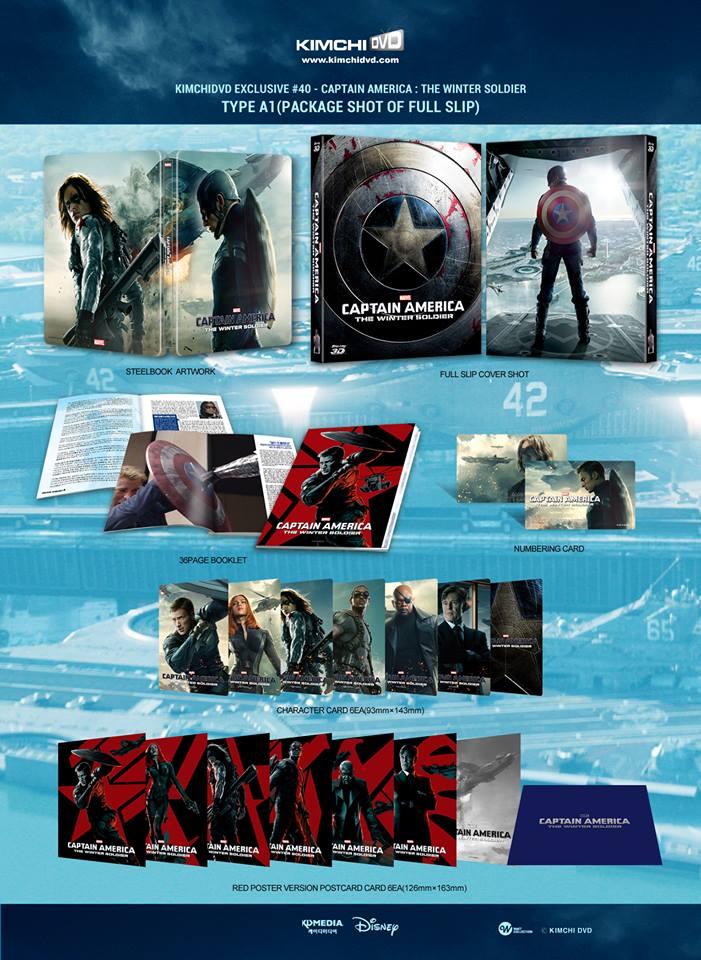 Captain America winter Soldier steelbook kimchi 2