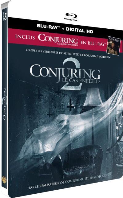Conjuring 2 steelbook