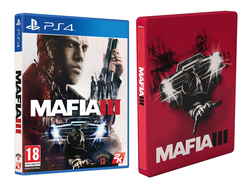 Mafia III steelbook