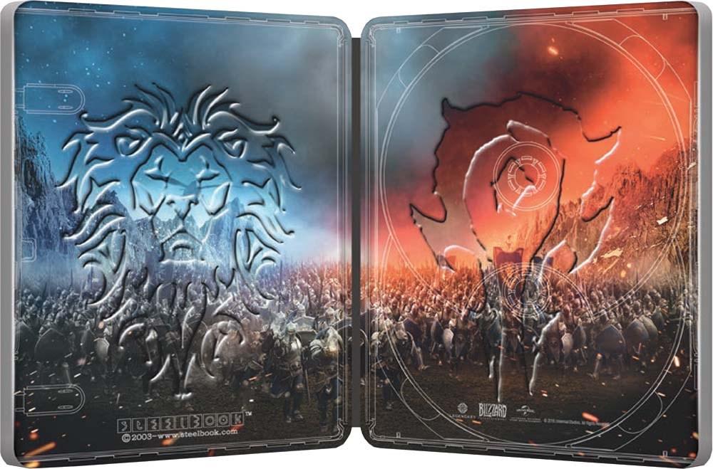 Warcraft -The-Beginning steelbook