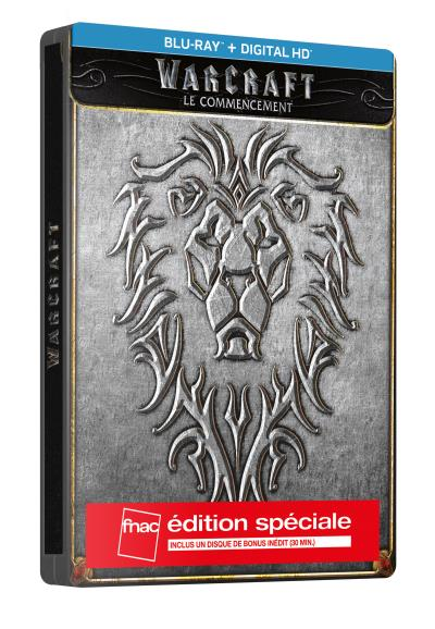 Warcraft steelbook fnac