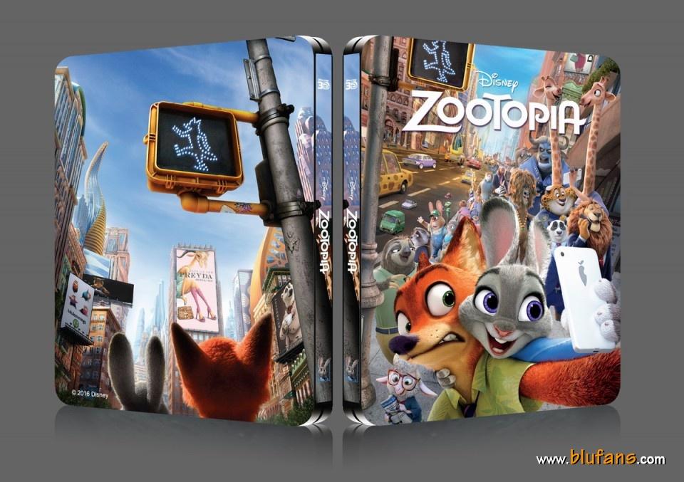 Zootopia steelbook blufans 1
