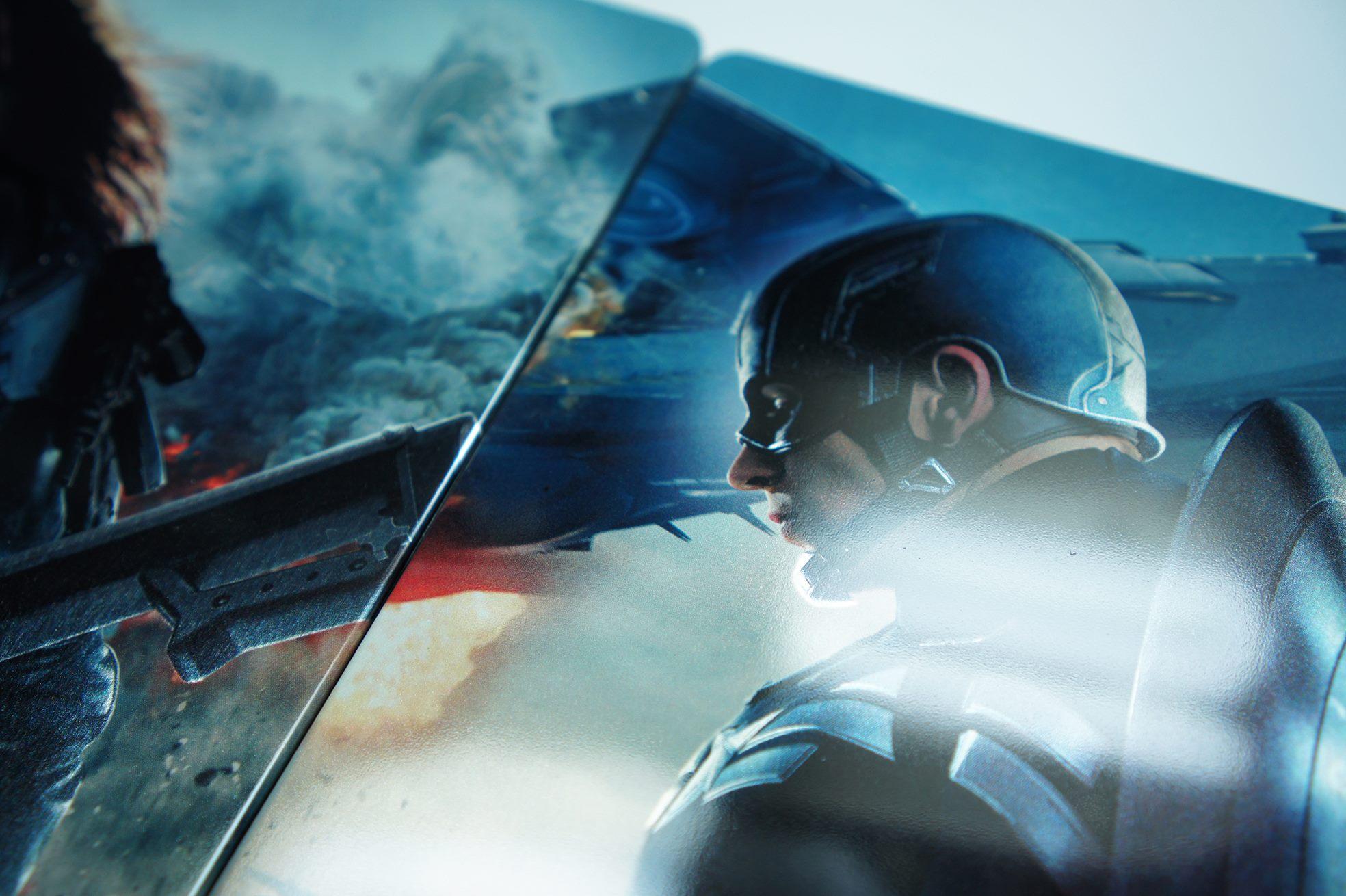 Captain America winter Soldier steelbook kimchi 1