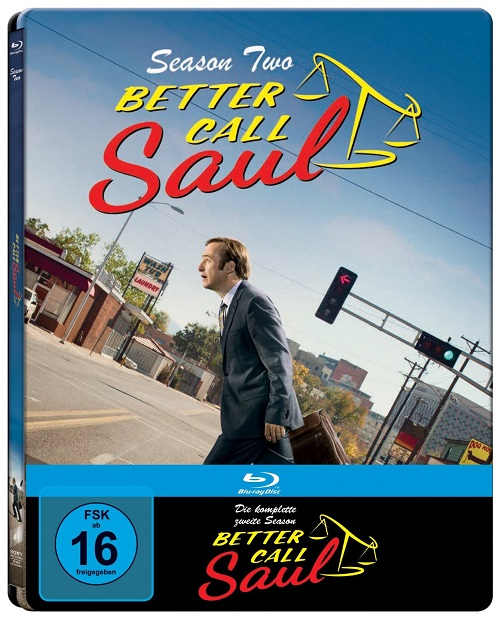 Better Call Saul season two steelbook
