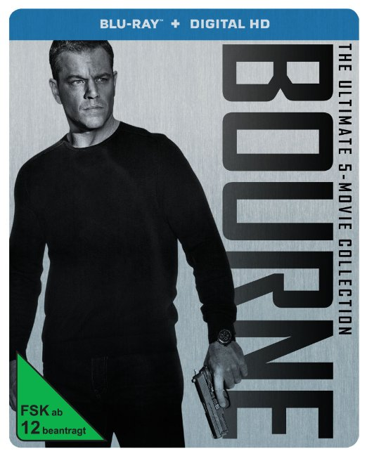 Bourne collection steelbook de