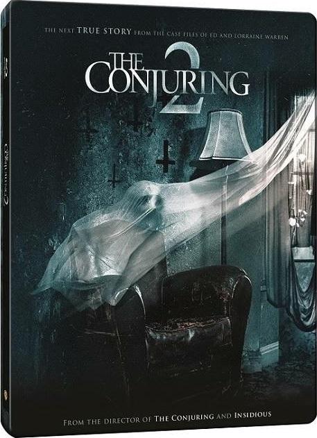 Conjuring 2 steelbook korea