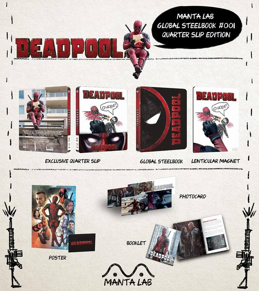 Deadpool mantalab steelbook 1