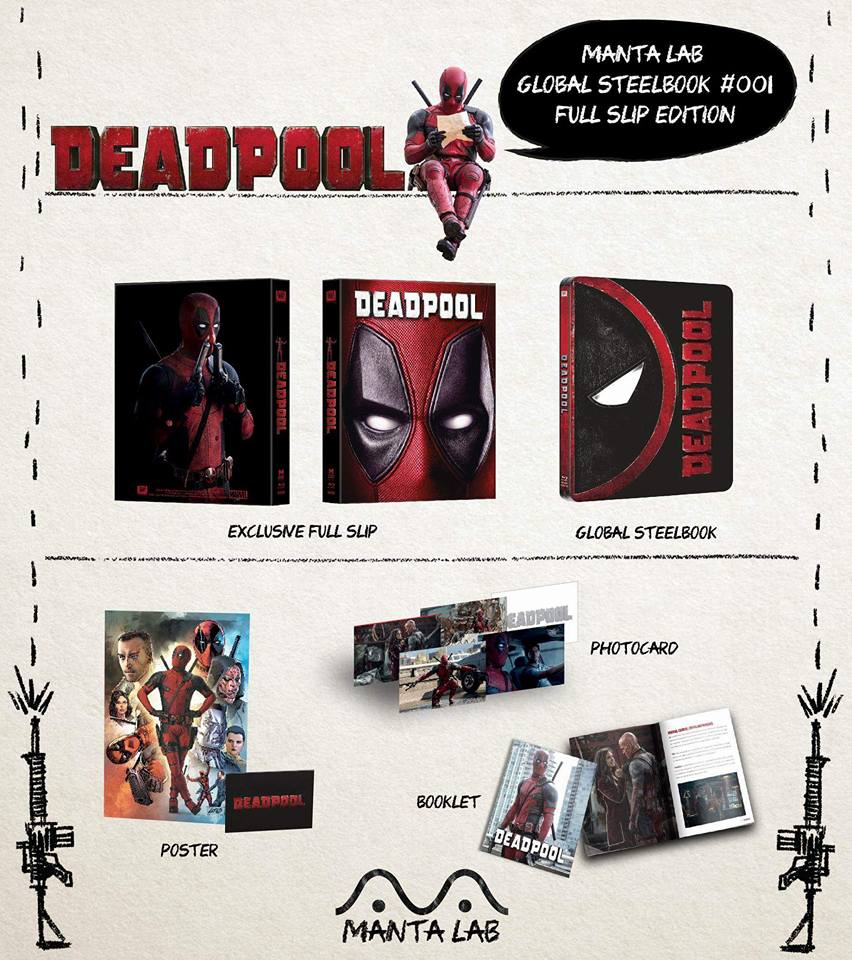 Deadpool mantalab steelbook 2