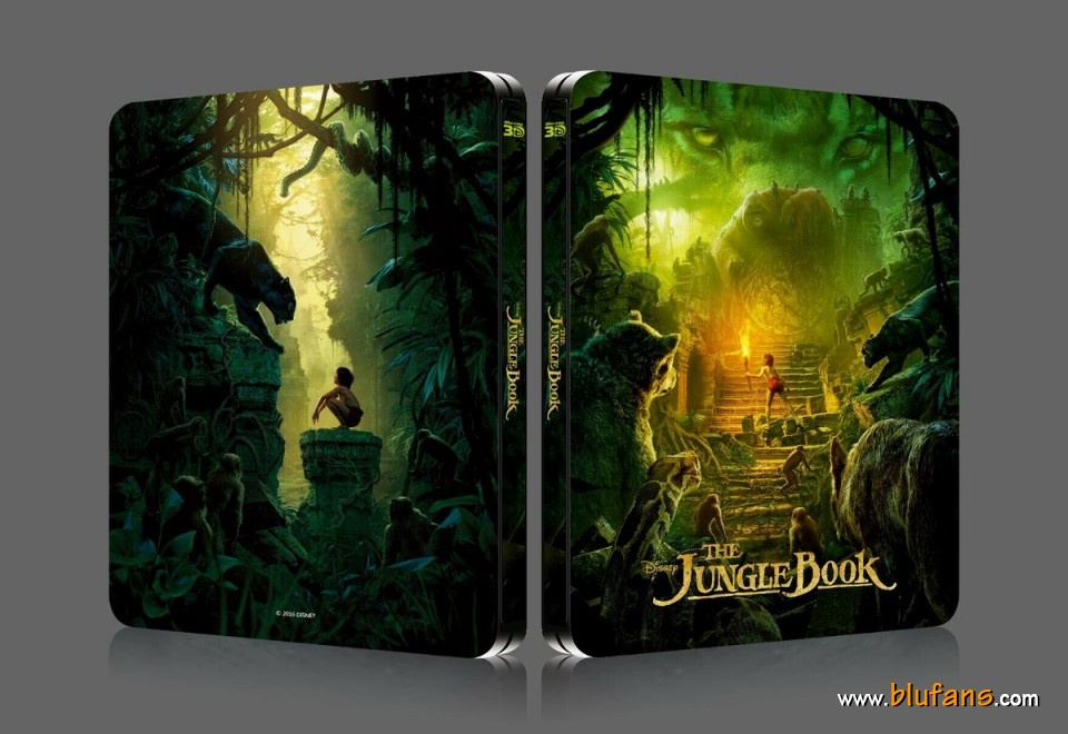 Jungle Book steelbook blufans 1
