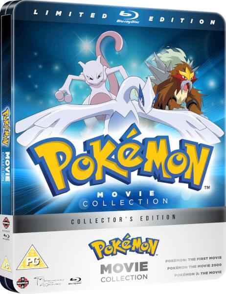 Pokemon Movie Collection steelbook UK
