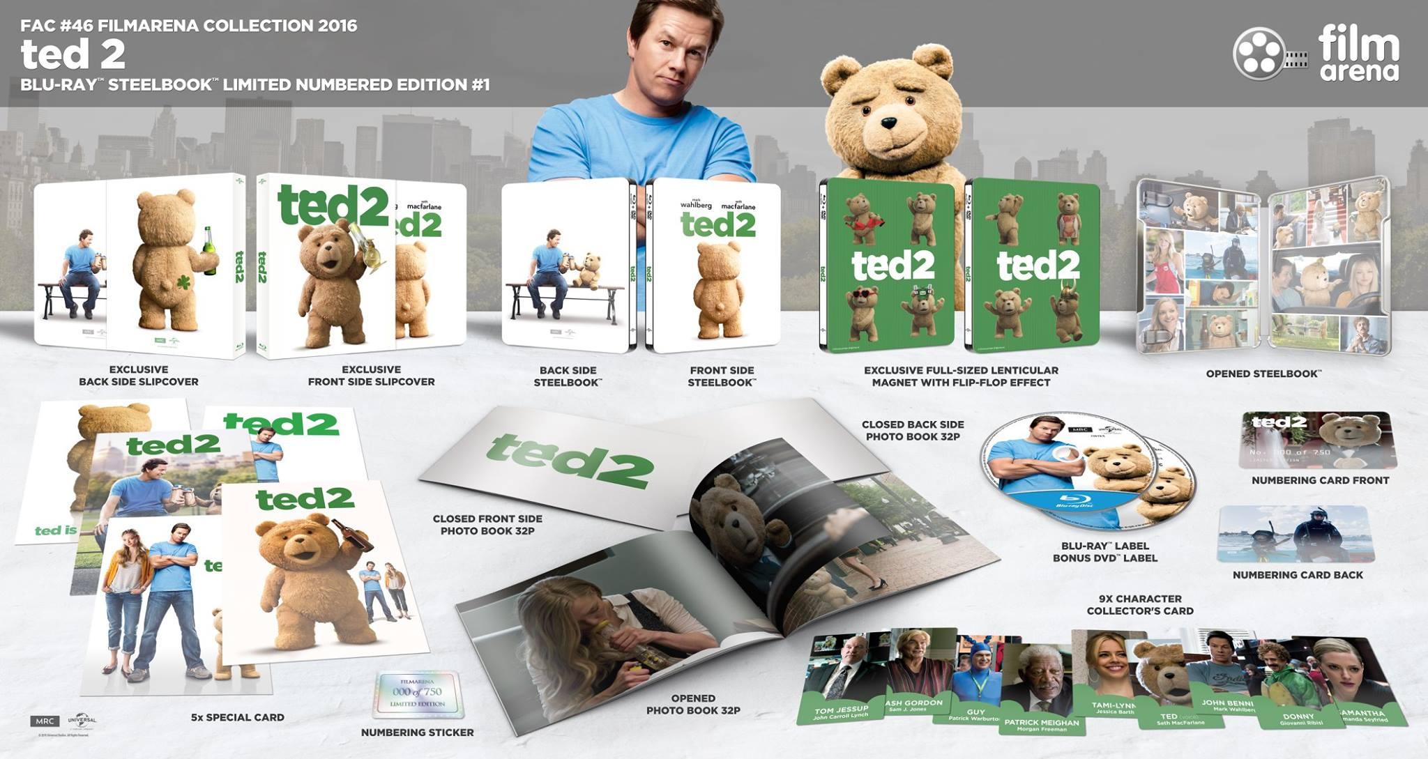 Ted 2 steelbook filmarena