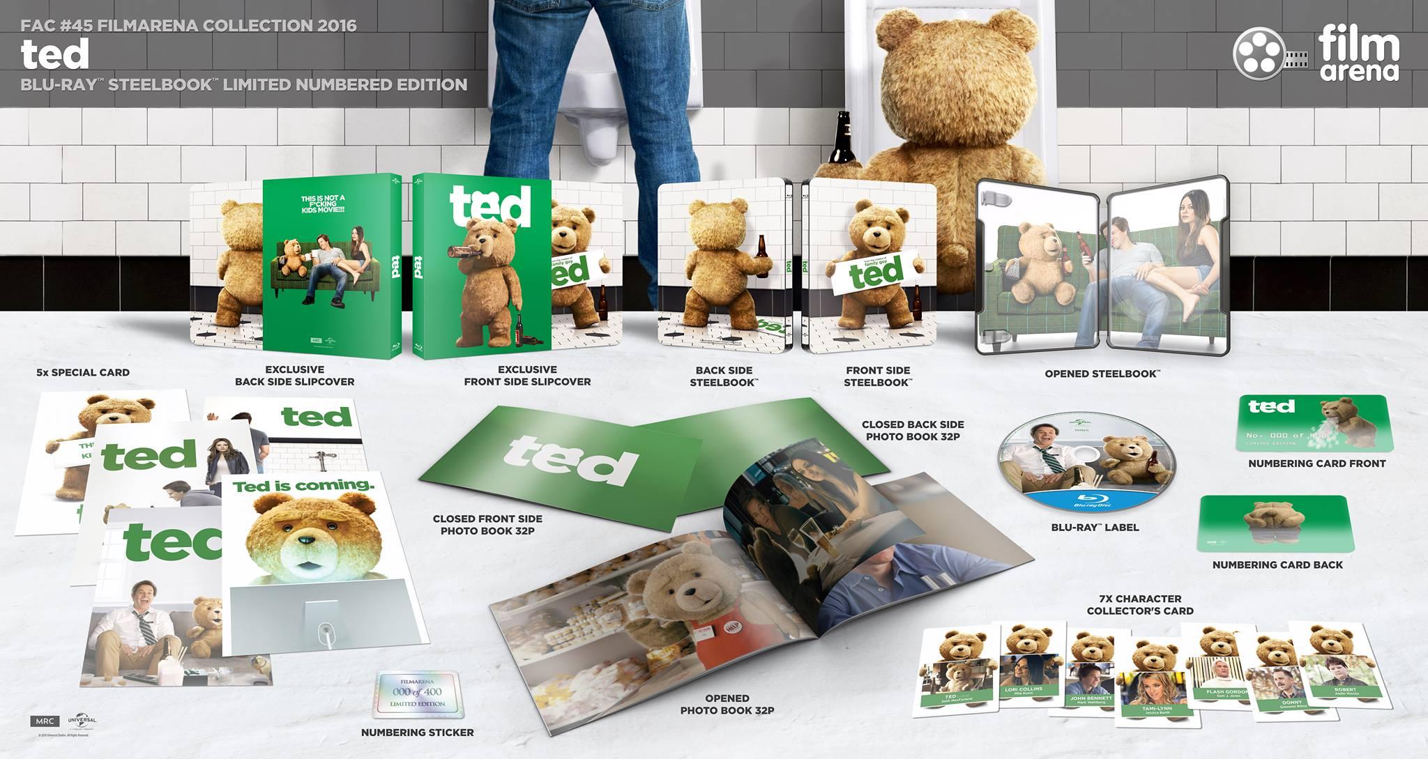 Ted steelbook filmarena