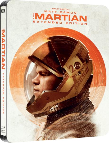 The Martian extended steelbook zavvi 1