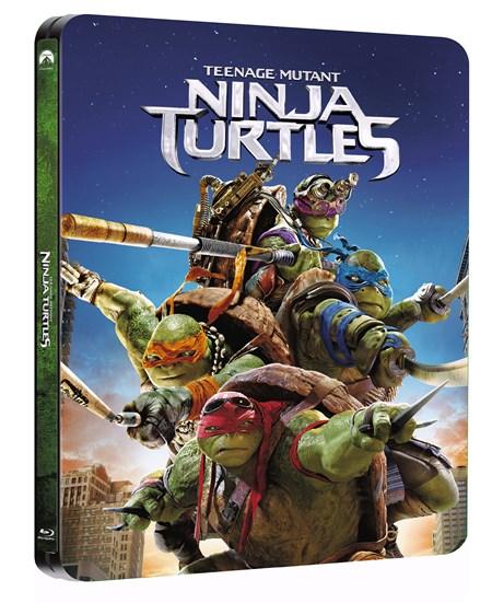 Ninja Turltes steelbook zoom 1