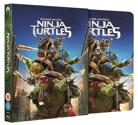 Ninja Turltes steelbook zoom 2