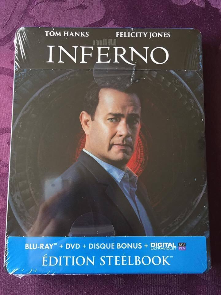 Inferno steelbook fr 1