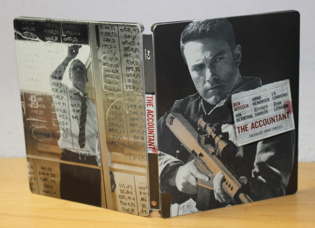 The Accountant steelbook 1