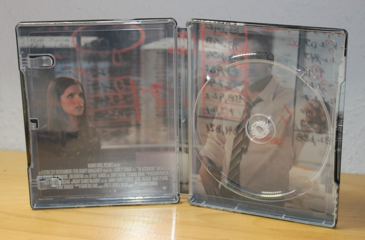 The Accountant steelbook 2