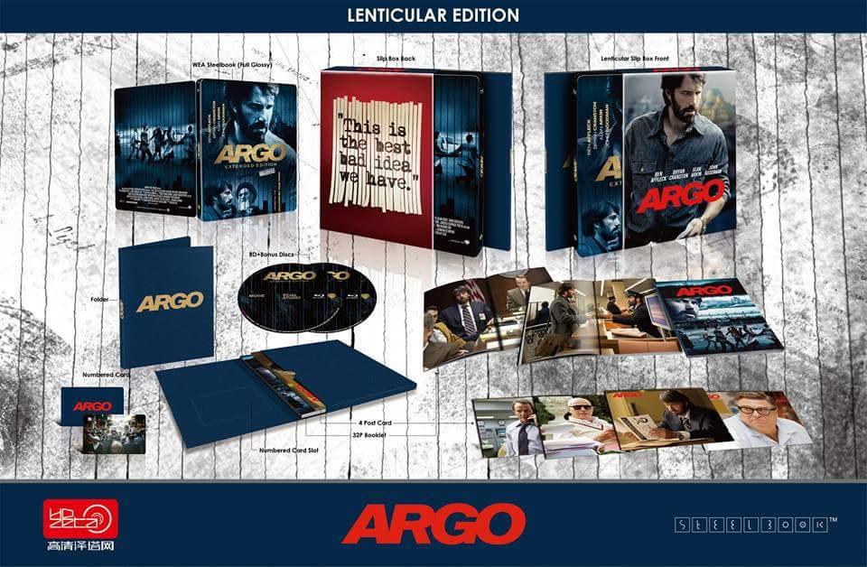 Argo steelbook HDzeta 2