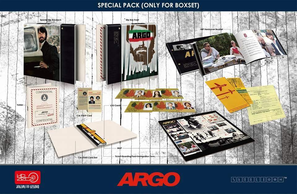 Argo steelbook HDzeta 5